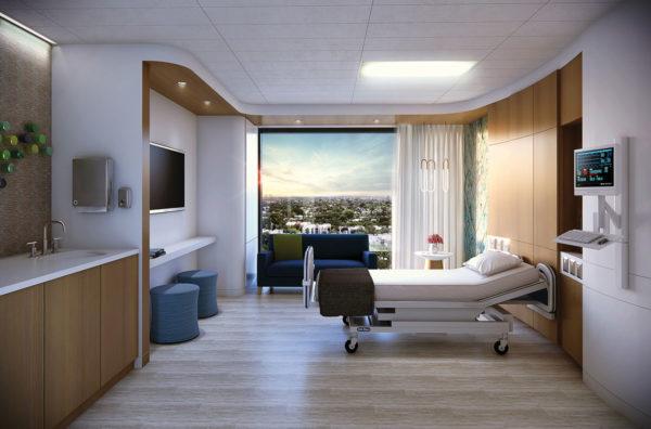 Boca Raton Regional Hospital New Patient Room