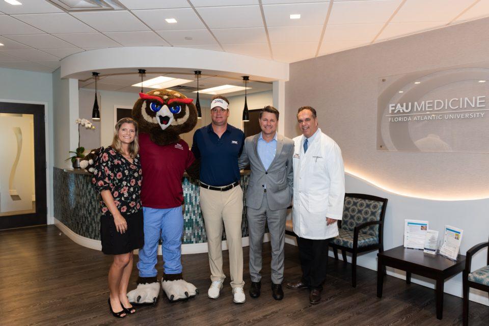 Whelchel Partners, Owlsley, and FAU Football Coach Kiffin at Galen Medical Building