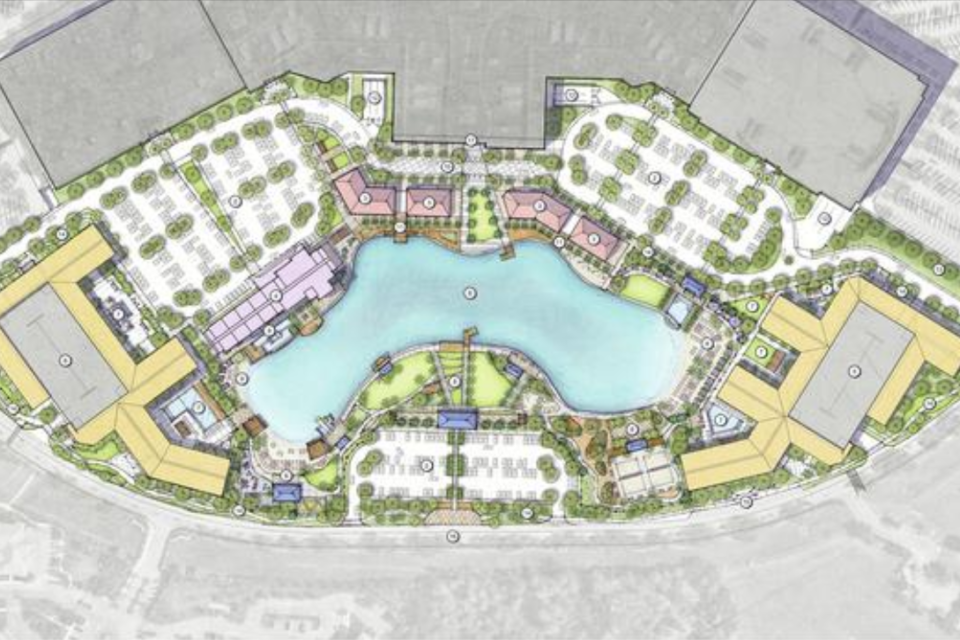 Site Plan for Redevelopment